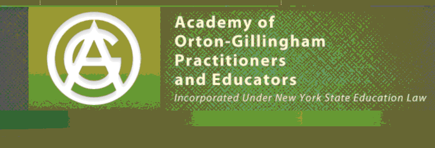 Academy of Orton-Gillingham Practitioners