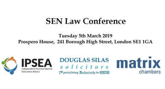 PLEASE BOOK EARLY THIS YEAR (SEN LAW CONFERENCE)