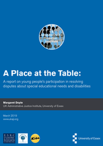 A PLACE AT THE TABLE (MEDIATION FOR YOUNG PEOPLE)