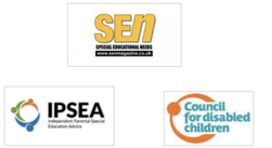 Logo of SEN Magazine/IPSEA/Council for Disabled Children